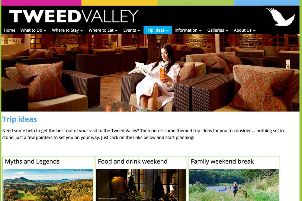 Tweed Valley Trip ideas
