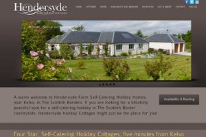 Hendersyde Self Catering by Kelso