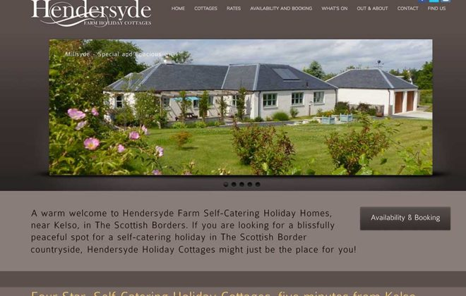Hendersyde Self Catering by Kelso