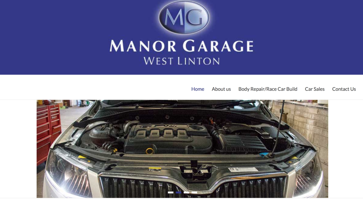 Manor Garage, West Linton