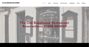 Old Bakehouse Restaurant West Linton
