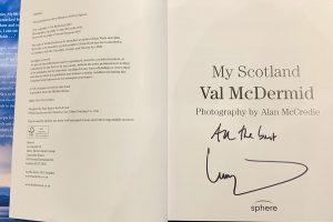 My Scotland signed copy