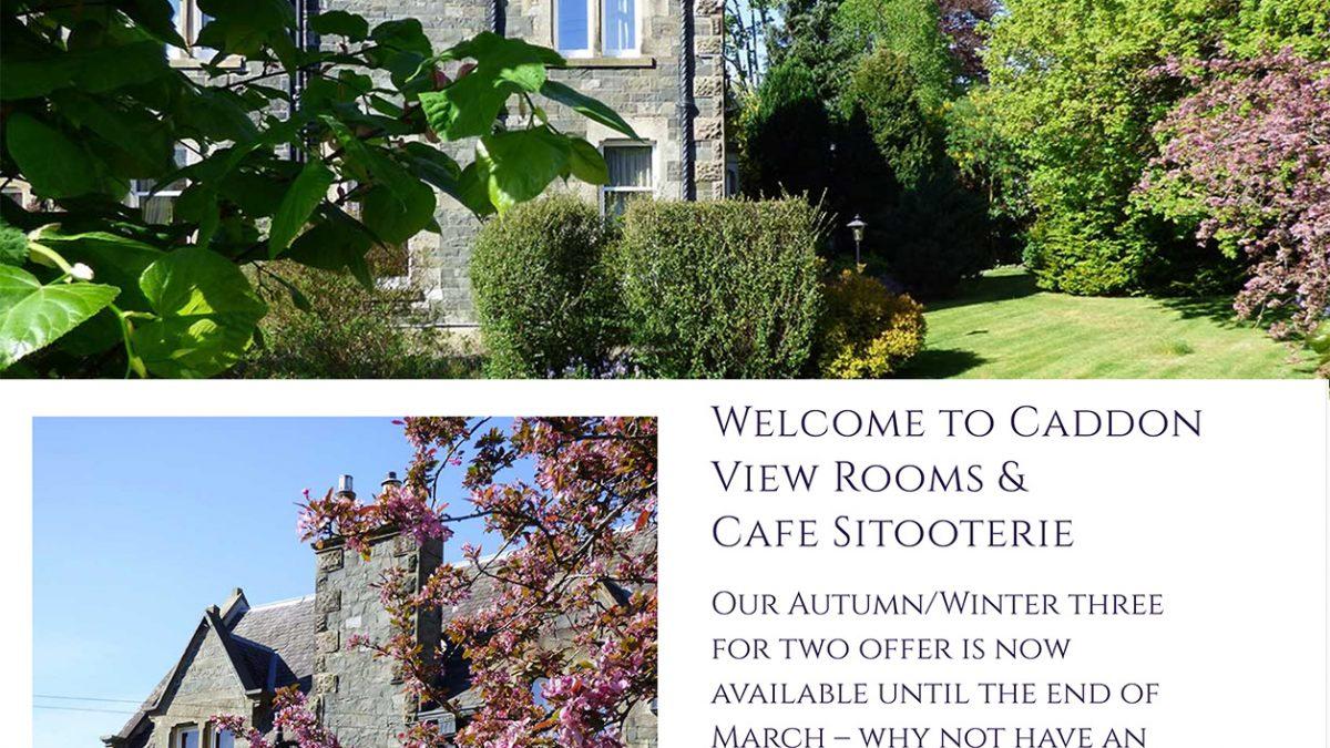 New Caddon View website