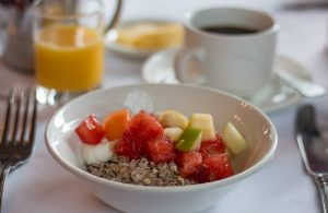 Healthy start at the Tontine