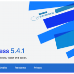WordPress 5.4.1 update