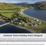 Ardmair Holiday Park website